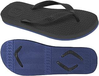 Boomerangz Regular Fit Interchangeable Flip Flops | Slippers | Thongs (Men's) Colour: Black/Navy
