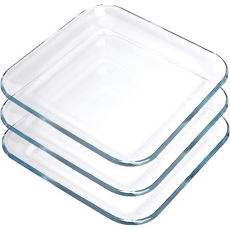 Libbey Crisa Tempo Square Salad Dessert Plate 8 Inch Box Of 12 Clear Salad Bowls Salad Plates