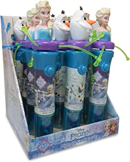 Disney Frozen Elsa and Olaf Light Up Candy Spinner Party Favor Set, Pack of 12