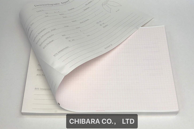 カプラーカフェテリア幻滅心電図記録紙(折り畳み型)CR210-60Z-DM(5冊入)