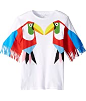 Stella McCartney Kids - Toucan Fringe Tee Early (Toddler/Little Kids/Big Kids)