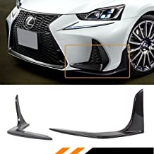 Fits for 2017-2019 Lexus IS200T IS350 IS300 F Sport Carbon Fiber Front Bumper Splitters