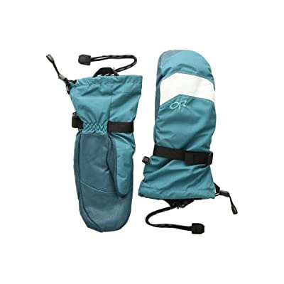 Outdoor Research Highcamp Mitts (Washed Peacock/Peacock) Ski Gloves