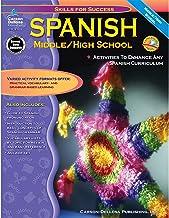 Carson Dellosa | Skills for Success: Spanish Workbook | 6th–12th Grade, 129pgs