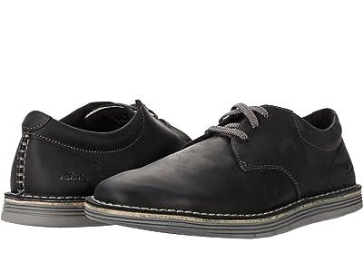 Clarks Forge Vibe (Black Leather) Men