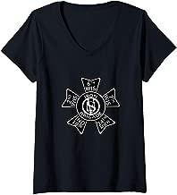 Womens US Civil War T-Shirt Iron Brigade Shirt  V-Neck T-Shirt
