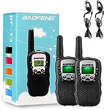 Best BaoFeng 2 Pack BF-T3 Handheld Kids Walkie Talkies 3 Miles Range Built-in Flashlight VOX UHF 22 CH FRS Hunting Accessories 2 Way Radio Mini Kids Toy Reviews