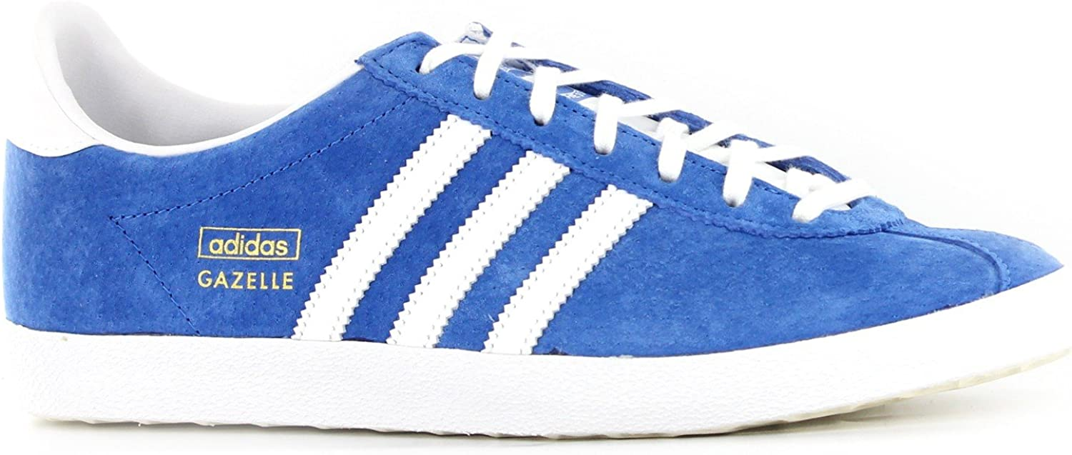 Adidas Gazelle OG bluee White Mens Trainers