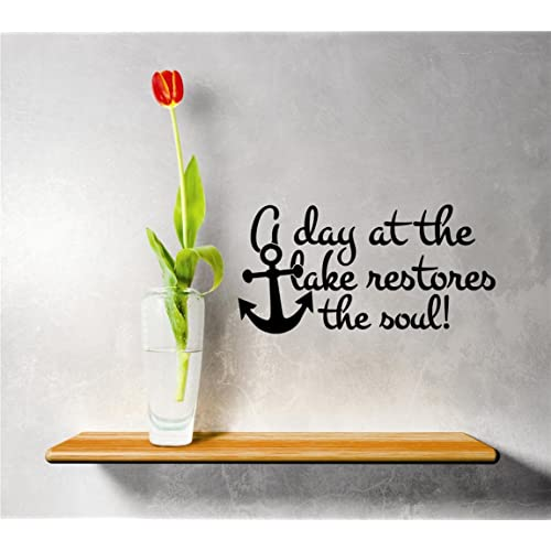 Wall Art With Lake Quotes Amazoncom