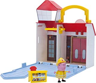 Peppa Pig Firehouse Little Places Playset