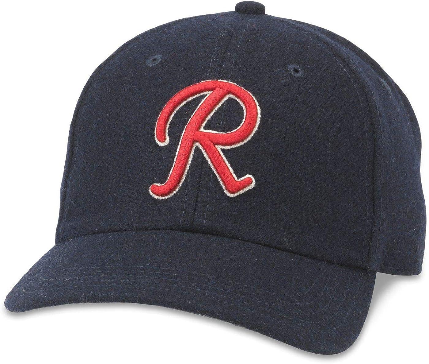 AMERICAN NEEDLE Archive Legend MiLB Baseball Team Adjustable Buckle Strap Dad Hat