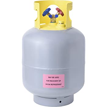 Flame King YSNR501 50 Pound Refrigerant Recovery Cylinder Tank