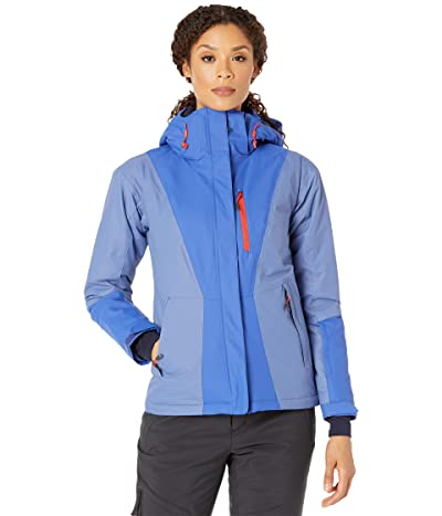 Columbia Last Tracks Insulated Jacket (Lapis Blue/Velvet Cove/Bold Orange) Women