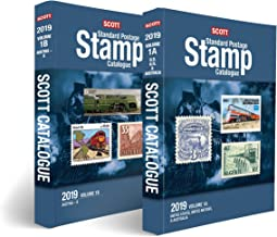 Scott 2019 Standard Postage Stamp Catalogue Volume 1: United States, Un, Countries A-B: 2019 Scott Catalogue Volume 1: United States, Un, Countries ... 2 Book Volume 1a & 1b) (Scott Catalogues)