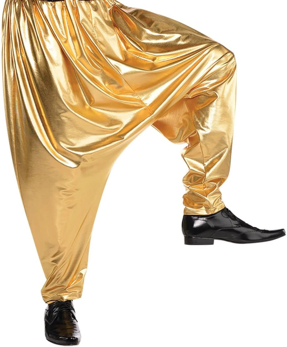 Max 67% OFF AMSCAN cheap Gold Hip Hop Parachute Size One for Adults Pants