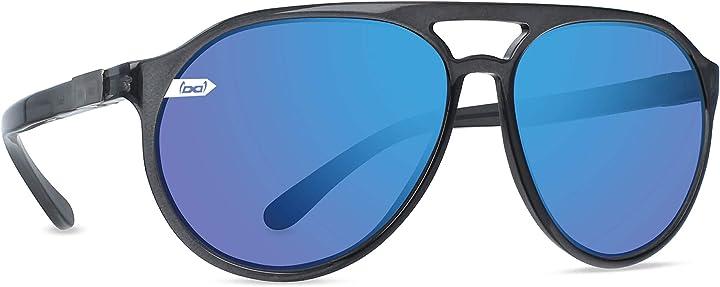 Occhiali da sole indistruttibili gloryfy unbreakable (gi3 navigator anthracite l) occhiali, unisex-adulto 1i03-18-3L