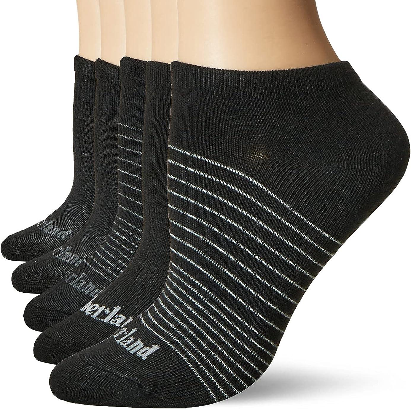 Timberland womens 5-pack No Show Socks