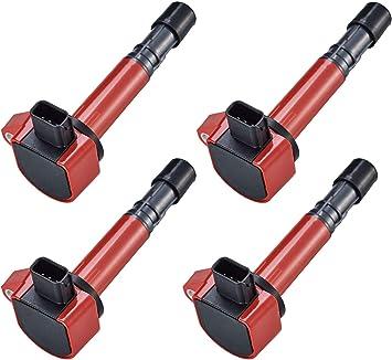 Fits Pilot MDX Vue Ridgeline Pickup 6 Pc Set of Ignition Spark Coils 30520PVFA01