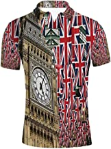 YOLIYANA Astrology Durable Polo Shirt,for Men,S
