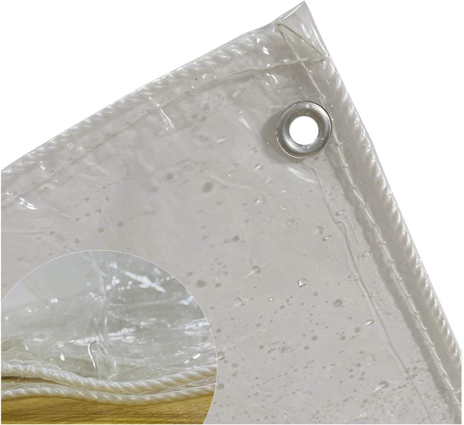 Tarp MYAN Transparent trust Tarpaulin PVC Seattle Mall Waterproof Soft
