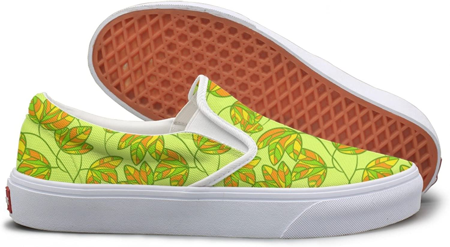 SEERTED Green Plant Climber Small Comfortable Sneakers for Women Wide Width