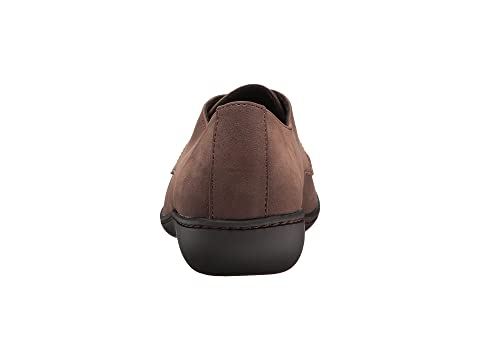 Boutique Jazlyn Style De Marron Noir Doux Nubuck Nubuckmid Trqrxtw