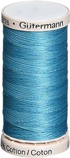 Gutermann Quilting Thread 220 Yards-Peacock Teal, Acrylic, Multicolour, 2.79x5.58x2.79 cm