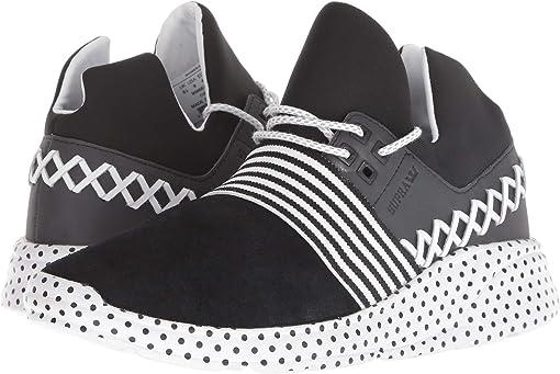 Black/White/Polka Dot
