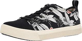 حذاء تومس كلاسيكي للنساء, (طباعة زهور سوداء), 44.5 EU