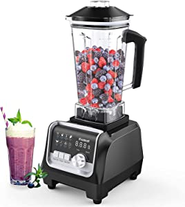 GEMAT Professional Desktop Blender, 1400 Watt Blender for Milkshakes and Smoothies, Smoothie Machine High-Speed Blender for Kitchen