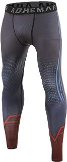COOLMAX Cosplay Superman Leggings Men's Compression Pants 3D Printed Tights