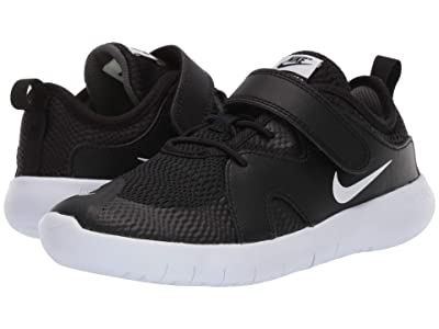 Nike Kids Flex Contact 3 (Little Kid) (Black/White) Kids Shoes
