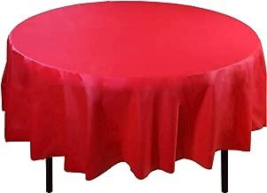 Best round vinyl tablecloths Reviews