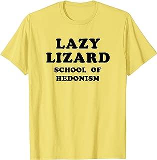 Lazy Lizard School Of Hedonism Shirt Retro Acid, LSD Trip