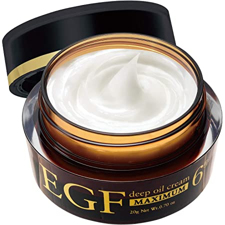 EGF ディープオイルクリーム マキシマム [ 20g / 濃度6μグラム ] エイジングケア (高濃度EGF クリーム) 日本製
