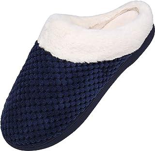 Mishansha Homme Femme Chausson Hiver Chauds Antidérapage Maison Pantoufles, GR.36-46 EU