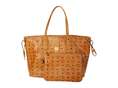 MCM Shopper Project Visetos Shopper Large (Cognac) Bags