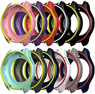 AWINNER Colorful Case for Gear S3 Frontier SM-R760,Shock-Proof and Shatter-Resistant Protective iwatch Silicone Case for Samsung Gear S3 Frontier SM-R760 Smartwatch (12-Colour)