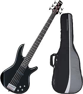 Ibanez GSR205BK 5-String Electric Bass (Black) w/ Gig Bag