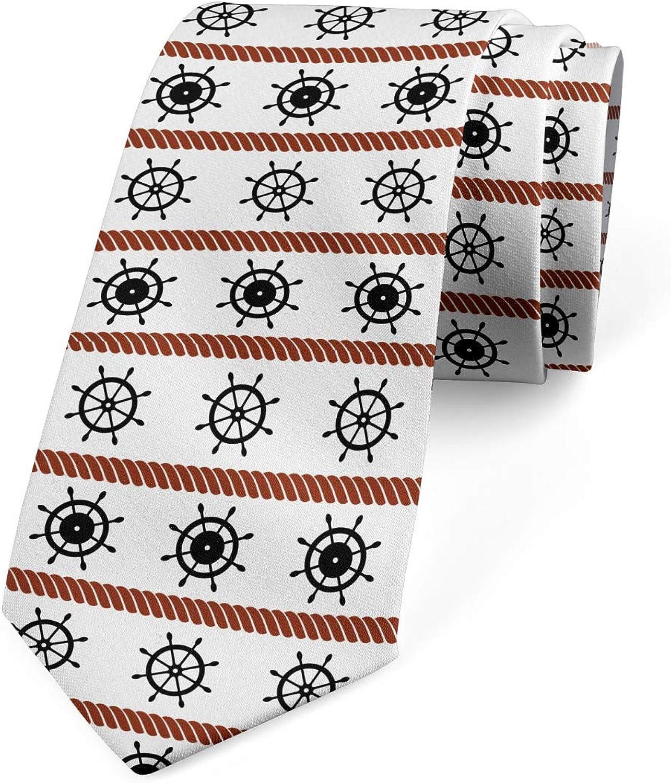 Lunarable Necktie, Cordage Horizontal, Dress Tie, 3.7