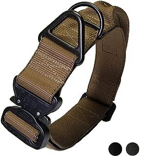 cobra buckle dog collar