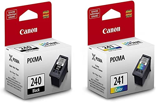 Canon PG-240 Black and CL-241 Color Fine Ink Cartridges Kit