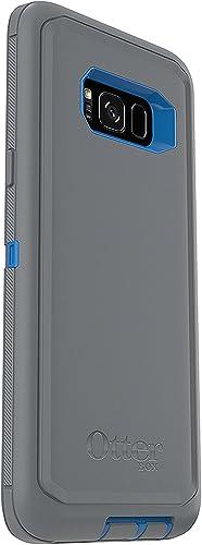 2021 OtterBox DEFENDER SERIES SCREENLESS EDITION for Samsung Galaxy S8+ - Retail Packaging online - MARATHONER outlet sale (COWABUNGA BLUE/GUNMETAL GREY) online sale