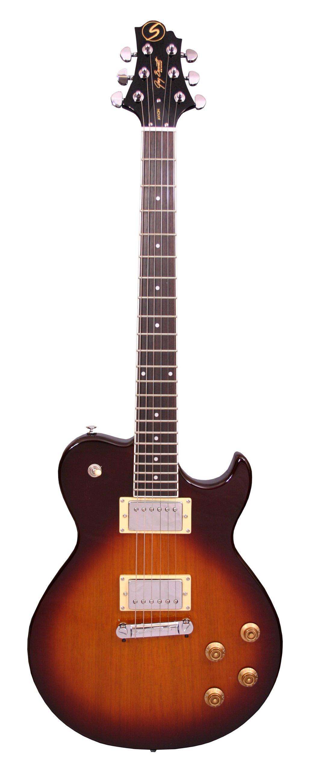 Cheap Samick Greg Bennett Design AV10 Electric Guitar Vintage Sunburst Black Friday & Cyber Monday 2019