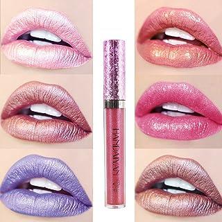Pintalabios Mate Labial de Maquillaje Profesional Larga Duracion 6 Colores para Niñas por ESAILQ I