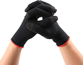 Winter Touchscreen Gloves for Gaming on Mobile Phones Tablets Winter Warm Knit Gloves for Men and Women (Black)