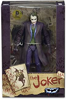 NECA, DC Comics, The Dark Knight Movie, the Joker [Heath Ledger] Exclusive Action Figure, 7 Inches