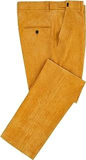 Hanayome, pantaloni da uomo in velluto a coste elasticizzati, aderenti, aderenti, da lavoro