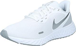 Nike Revolution 5, Women's Road Running Shoes, Multi Color (White/Wolf Grey-Pure Platinum), 5.5 UK (39 EU)