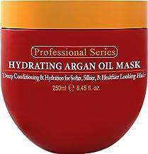 ماسک موی روغن آرگان Arvazallia Hydrating  برای موهای خشک و آسیب دیده – حاوی 240 گرم